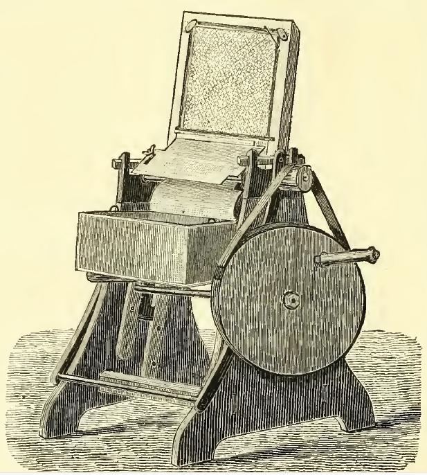 Figure 1 Count Zorzi's uncapping machine